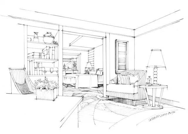 设计师干货:如何画好一张手绘室内效果图